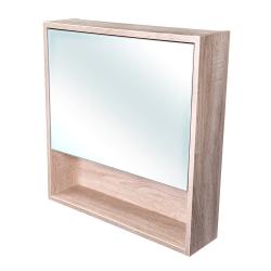 CEDERIKA - Amsterdam galerka 1x výklopné farba zrkadlo v AL ráme korpus korpus Dub bardolino šírky 60 (CA.G1V.194.060)