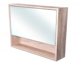 CEDERIKA - Amsterdam galerka 1x výklopné farba zrkadlo v AL ráme korpus korpus Dub bardolino šírky 90 (CA.G1V.194.090)