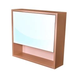 CEDERIKA - Amsterdam galerka 1x výklopné farba zrkadlo v AL ráme korpus korpus metallic medený šírka 75 (CA.G1V.193.075)