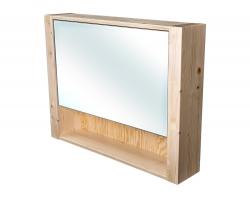 CEDERIKA - Bern galerka masív smrek natur lak zrkadlo v AL ráme šírky 85 (CB.G1V.191.085)