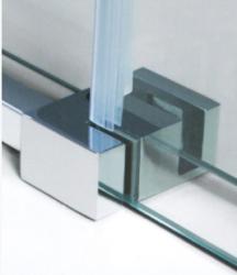 VÝPRODEJ - DYNAMIC R33 Chrom Sprchová zástěna obdélníková 120x90cm, varianta levá, výplň sklo - grape (DYNAMICR33-139VYP), fotografie 4/3