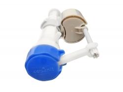 Napúšťací ventil CERSANIT spodnej vrátane kovovej matky - sivý plavák (K99-05X), fotografie 4/3