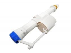 Napúšťací ventil CERSANIT spodnej vrátane kovovej matky - sivý plavák (K99-05X), fotografie 6/3