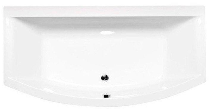 POLYSAN - VERVA nepravidelná vaňa 170x85(65)x40cm, biela (78798)