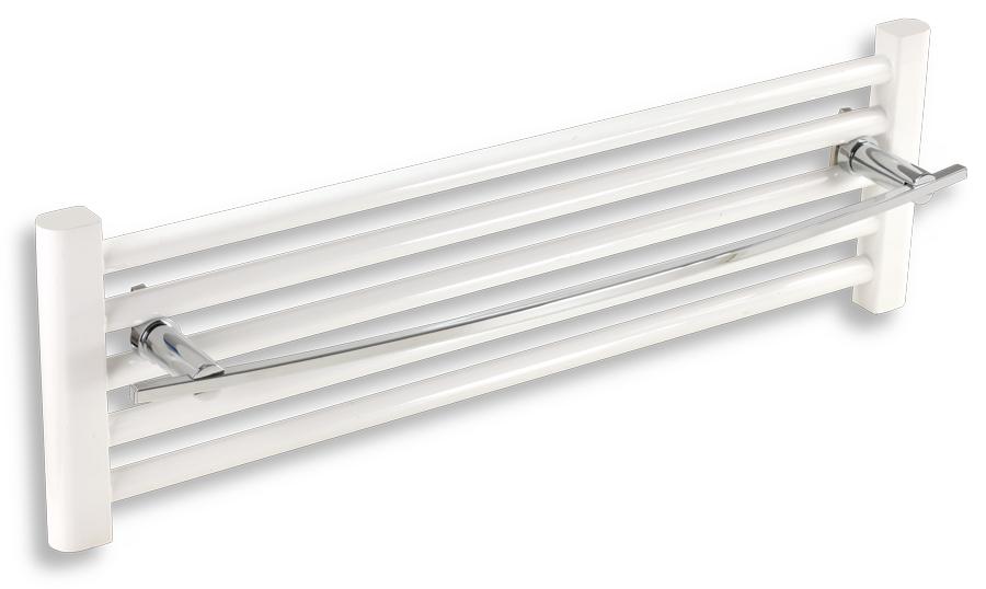 NOVASERVIS - Držiak uterákov na vykurovací rebr. 700 mm  Metalia 2 chróm (6228/1,0)