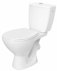 CERSANIT - WC KOMBI KASKADA 203 010 3/6 SEDADLO POLYPROPYLÉNOVÉ (K100-206)