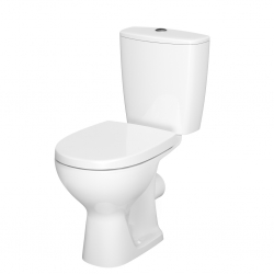 CERSANIT - WC KOMBI 397 ARTECO 010 3/6 SEDÁTKO DUROPLAST ANTIBACTERIAL SOFT CLOSE EASY OFF (K667-015)