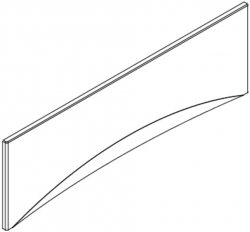 Panel k vani MITO RED 160 CW (TS401-003), fotografie 4/2