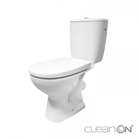 WC KOMBI 613 ARTECO 010 3/5 NEW CLEANON + DUROPLAST SEDADLO SOFTCLOSE (K667-052)