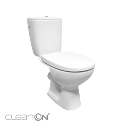 WC KOMBI 613 ARTECO 010 3/5 NEW CLEANON + DUROPLAST SEDADLO SOFTCLOSE (K667-052), fotografie 2/8