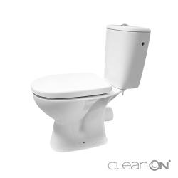WC KOMBI 613 ARTECO 010 3/5 NEW CLEANON + DUROPLAST SEDADLO SOFTCLOSE (K667-052), fotografie 6/8