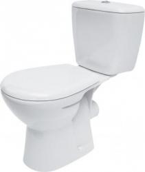 CERSANIT - WC kombi MARKET 202 010 3/6, polypropylenové sedátko MARKET (K100-202)