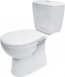 CERSANIT - WC kombi MARKET 203 020 3/6, polypropylenové sedátko (K100-203)