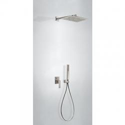 TRES - Podomietková sprchová jednopáková set s uzáverom a reguláciou prietoku, vrátane telesa (20218006AC)