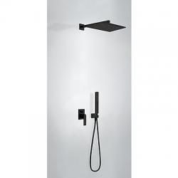 TRES - Podomietková sprchová jednopáková set s uzáverom a reguláciou prietoku, vrátane telesa (20218006NM)