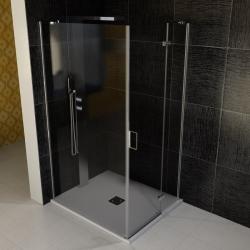 POLYSAN - VITRA LINE sprchová zástena, obdĺžnik 900x1000mm, pravá, číre sklo (BN8615RVYP)