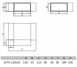 Ostatní - FACTOR Tvarovka T 55x110 (2331010), fotografie 2/2
