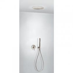 TRES - Podomietková sprchová jednopáková set s uzáverom a reguláciou prietoku, vrátane telesa (26218099AC)