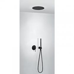 TRES - Podomietková sprchová jednopáková set s uzáverom a reguláciou prietoku, vrátane telesa (26218099NM)