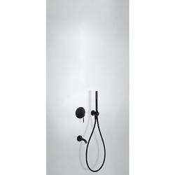 TRES - Podomietková sprchová jednopáková set s uzáverom a reguláciou prietoku, vrátane telesa (26218003NM)