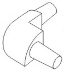 Ostatní - Rohový segment 10 eloxovaný (EURO24034 0), fotografie 2/1