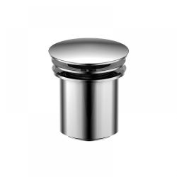 """STEINBERG - Odtokový ventil """"push-down"""" k umývadlám s prepadom (100 1692)"""