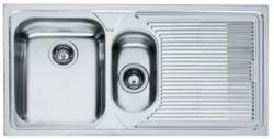 Ostatní - FRANKE dřez1000x500(1,5 dřez odk.vpravo)   /   bal. 1KS (LOX651/2)