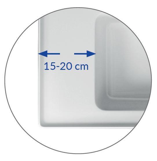 CERSANIT - NÁBYTKOVÉ UMÝVADLO 100 CREA BOX (K114-018)