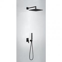 TRES - Podomietková sprchová jednopáková set s uzáverom a reguláciou prietoku, vrátane telesa (21198091NM)