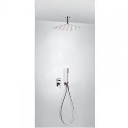 TRES - Podomietková sprchová jednopáková set s uzáverom a reguláciou prietoku, vrátane telesa (21118080)