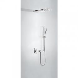 TRES - Podomietková sprchová jednopáková set s uzáverom a reguláciou prietoku (21198093)