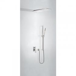 TRES - Podomietková sprchová jednopáková set s uzáverom a reguláciou prietoku (21198093AC)