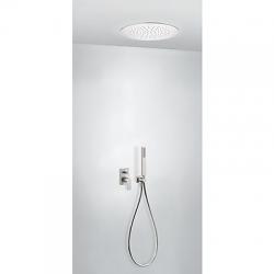 TRES - Podomietková sprchová jednopáková set s uzáverom a reguláciou prietoku, vrátane telesa (21198099AC)