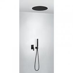 TRES - Podomietková sprchová jednopáková set s uzáverom a reguláciou prietoku, vrátane telesa (21198099NM)