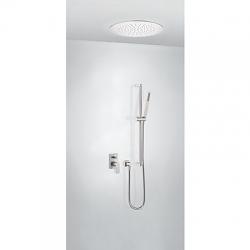 TRES - Podomietková sprchová jednopáková set s uzáverom a reguláciou prietoku (21198094AC)