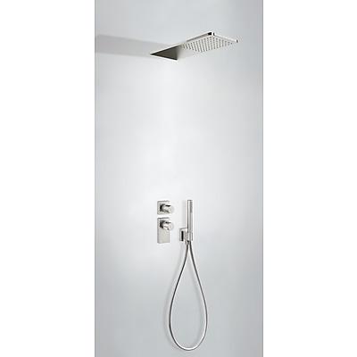 TRES - Podomietkový termostatický sprchový set BLOCK SYSTEM s uzáverom a reguláciou prietoku (2-cestná) (20635202AC)