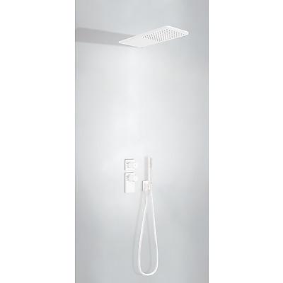 TRES - Podomietkový termostatický sprchový set BLOCK SYSTEM s uzáverom a reguláciou prietoku (2-cestná) (20635202BM)