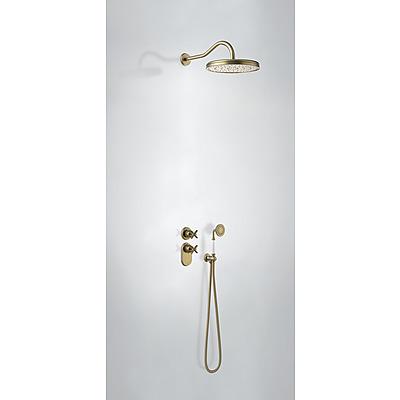TRES - Podomietkový termostatický sprchový set (2-cestná) (24235202LV)