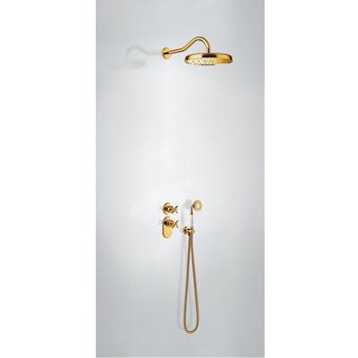 TRES - Podomietkový termostatický sprchový set (2-cestná) (24235202OR)