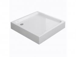 CERSANIT - Sprchová vanička TAKO 90x16, čtverec, BUILT-IN-PANEL CW (S204-012)