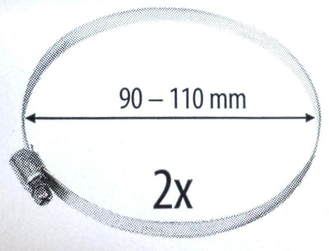 Ostatní - HS W1 100../..pozink / spona / 2 ks. (HACO606), fotografie 2/1