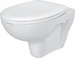 AKCE/SET/CERSANIT - WC závesné PRESIDENT + sedátko duraplast ZADARMO / K08-027 + K98-0021 / (SET / 0003)