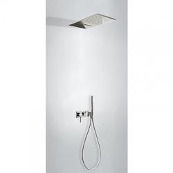 TRES - Vstavaná jednopáková batéria 3V · Vrátane podomietkového telesa (3-cestná) · Sprchové kropia (21027301AC)