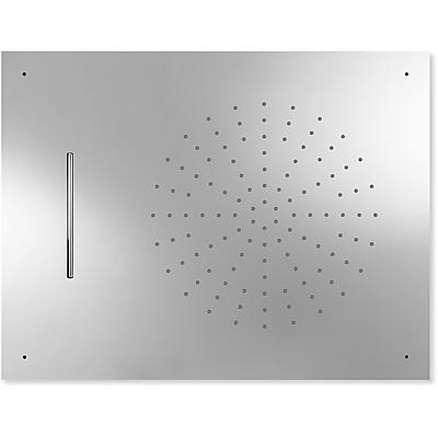 TRES - Stropné sprchové kropítko z nerez. ocele, proti usa. vôd. kameňa 2 typov prúdenia vody (Dé (29997001)
