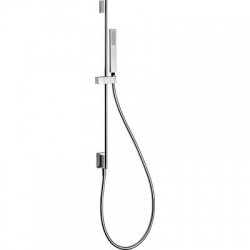 TRES - Posuvná tyč s nástenným prívodom vody O 14 mm. Dĺžka 760 mm. Ručná sprcha, proti usa. vôd (03493201BM)