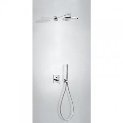 TRES - Podomietkový sprchový set termostatické batériu s uzáverom a reguláciou prietoku (2-cestná). · (09096020)