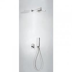 TRES - Podomietkový sprchový set termostatické batériu s uzáverom a reguláciou prietoku (2-cestná). · (09096022)
