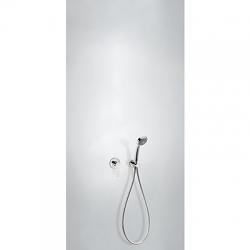 TRES - Podomietková sprchová jednopáková set FLAT s uzáverom a reguláciou prietoku. · Vrátane podomítk (20417702)