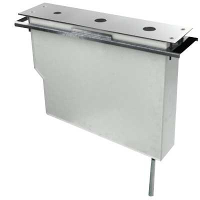 TRES - Set nádrže pre stojankové vaňové batérie Jednoduchá montáž zhora. Bez otvorov (Kód: 202.161.04, (20224501)