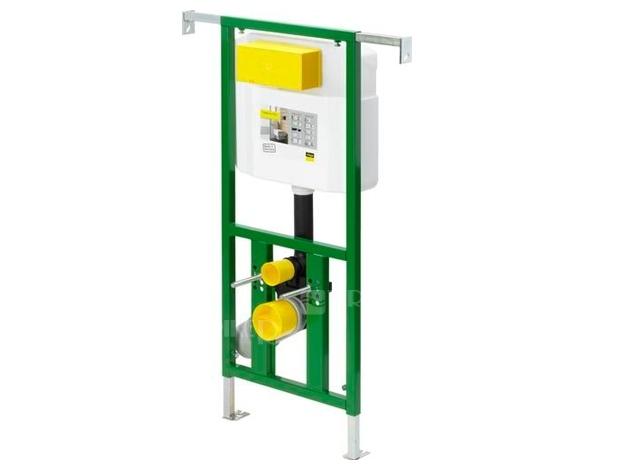 VIEGA - Eco Plus modul pro WC, čelní ovl., do jádra, model 8136 (V 622176)